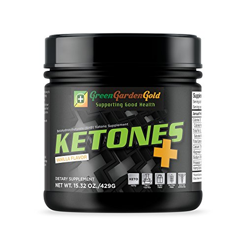 Cheap Exogenous Ketogenic Supplement by Green Garden Gold for Weight Loss, Getting Into Ketosis Quickly, and Energy Enhancement (15 OZ) Gluten-Free, Dairy-Free, Vegan Ketogenic Salt (Vanilla)