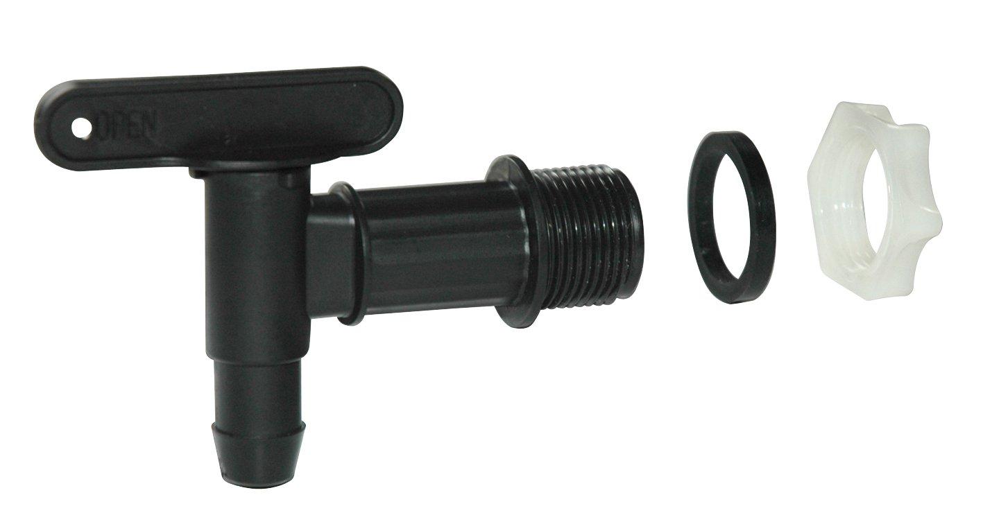 ebertSankey Spare Tap Water Butt Tap (Black) GF5763 Parts Water Butt Spare tap. Watering