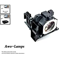 AWO ET-LAE300 Premium Quality Replacement Lamp with Housing For PANASONIC PT-EW540/EW640/EW730Z/EW730ZL/EX510/EX610/EX800Z/EX800ZL/EZ580/EZ770Z/EZ770ZL