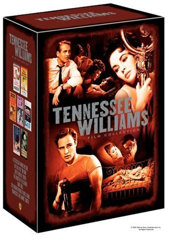 Tennessee Williams Film Collection (A Streetcar Named Desire 1951 Two-Disc Special Edition / Cat on a Hot Tin Roof 1958 Deluxe Edition / Sweet Bird of Youth / The Night of the Iguana / Baby Doll / The Roman Spring of Mrs. Stone) by WILLIAMS,TENNESSEE