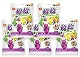 Kras Kiki Fruit Chews 100gr (Kiki vocne bombone) 17.6 oz, Pack of 5