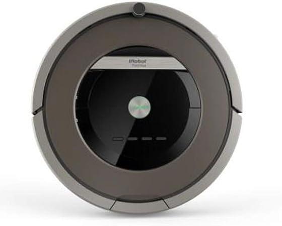 iRobot Rumba 870 Bolsa para el polvo Negro, Platino aspiradora robotizada - Aspiradoras robotizadas (Bolsa para el polvo, Negro, Platino, Alrededor, 60 min, 3,8 kg): Amazon.es: Hogar