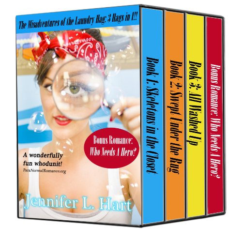 4 Books For Under $5.00! Don't Miss 3 Hags in 1: The Misadventures of the Laundry Hag Mystery Box Set Books 1-3 BONUS Romance! by Jennifer L. Hart