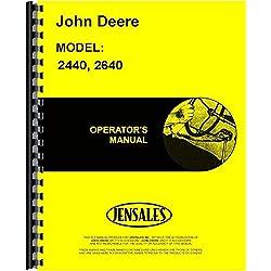 John Deere 2440 2640 Tractor Operators Manual (SN#