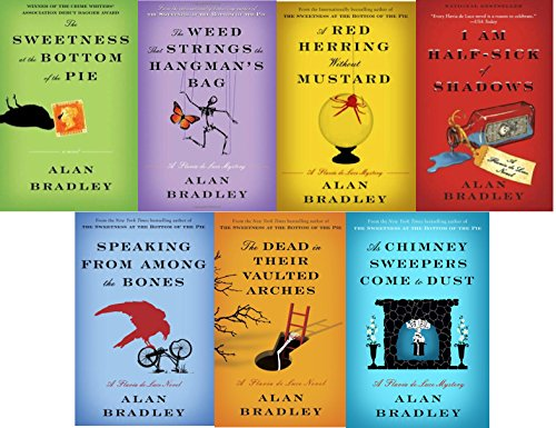 The Flavia de Luce Mysteries Series Set Bundle (Books 1-7) - Alan Bradley