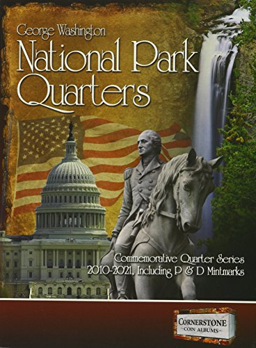 National Park Quarters Album, 2010-2021 P&D (Cornerstone Coin Albums) (Quarter Collection Album)