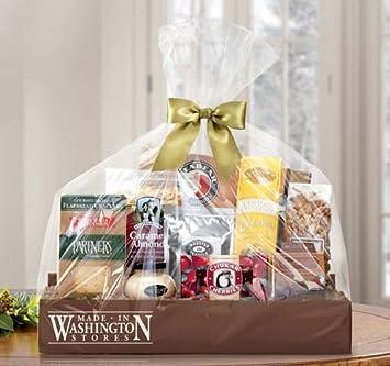 Amazon.com : Made In Washington Taste of the Northwest Gift Basket ...