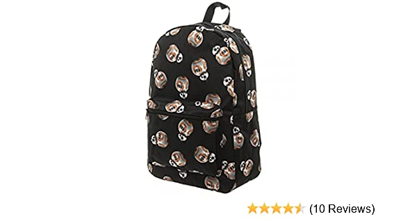 Amazon.com: Star Wars Unisex-Adults Bb8 Subliminated Backpack, Multi, One Size fits Most: Clothing