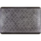 WellnessMats Estates Collection Essential Series Onyx Trellis 3 x 2 Foot Anti-Fatigue Mat