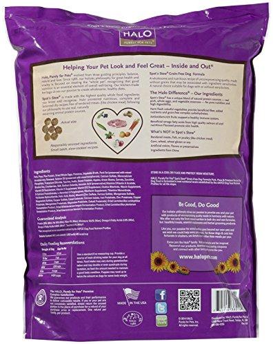 Halo Grain Free Dog Food Ingredients