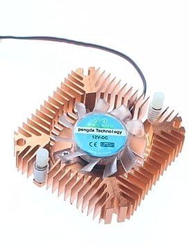 XMQC*Tarjeta gráfica de tono 5.5CM Ventilador / Disipador de ...