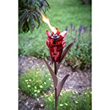 Desert Steel Ginger Garden Torch