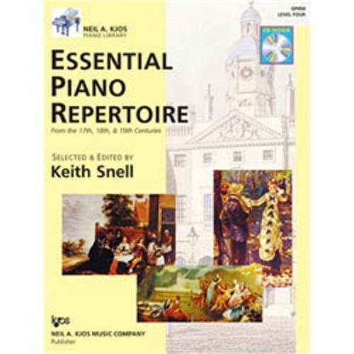 (GP454 - Essential Piano Repertoire of the 17th, 18th, & 19th Centuries Level 4)