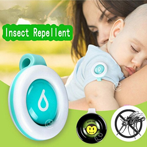 Clearance Sale!DEESEE(TM)Mosquito Repellent Button Baby Kids Buckle Outdoor Anti-mosquito Repellent