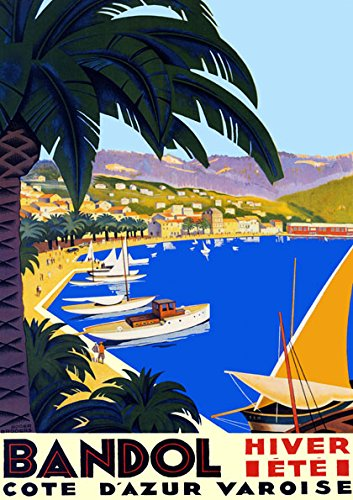 (Bandol Hiver Ete Cote D Azur Varoise Sail Sailboat Beach France French 20