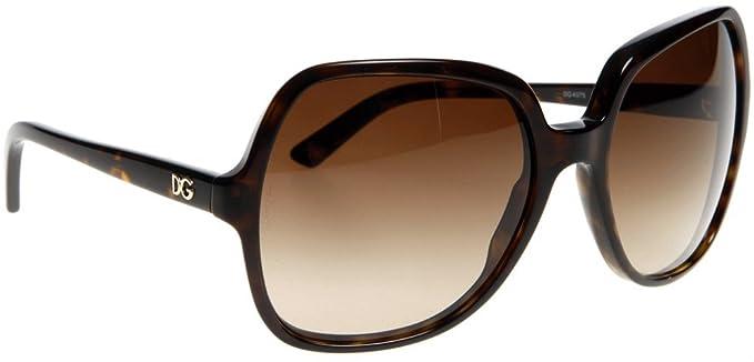 Amazon.com: Dolce & Gabbana anteojos de sol DG 4075, Marrón ...