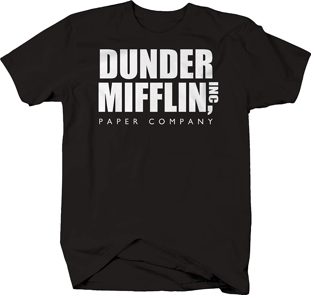 Dunder Mifflin Paper Co Office T Shirt for Men