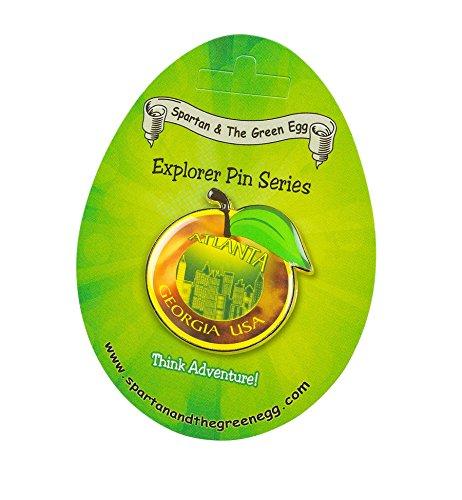 Spartan and the Green Egg Explorer Pin Series: Atlanta - Georgia, USA (4) ()