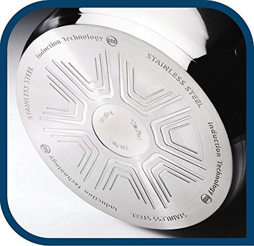 Tefal A705A835 Duetto Edelstahl Kochtopf-Set 7-Teilig induktionsgeeignet, spülmaschinengeeignet, backofengeeignet (ausser Deckel) 6