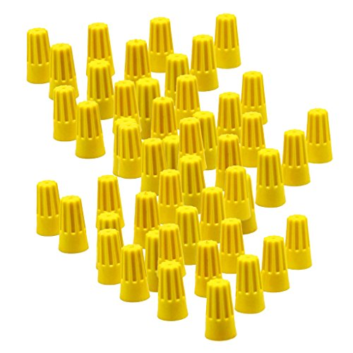 MagiDeal 100 Pieces Electrical Wire Connector Twist-On: Electronics