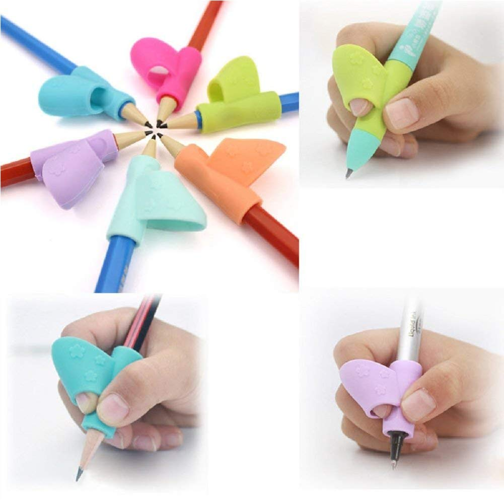 Amazon.com: Grip Pen Corrector Children Pencil Holder Pen Writing Aid Grip Posture Correction Tool 3Pcs: Arts, Crafts & Sewing