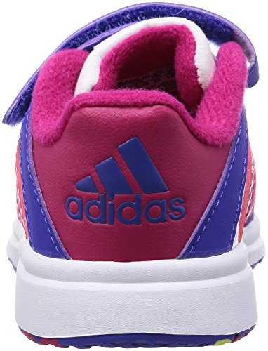 adidas Snice 4 Unisex Baby Sneaker Blanc (Ftwr White/Night Flash/Bold Pink)