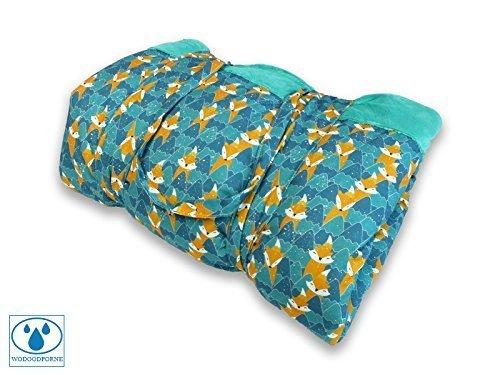 BlueKitty XXL 180x200cm Picknickdecke Wasserdicht mit Tragegriff fü r Picknicks, Strandmatte, Stranddecke, Outdoor, Camping, Wasserabweisend