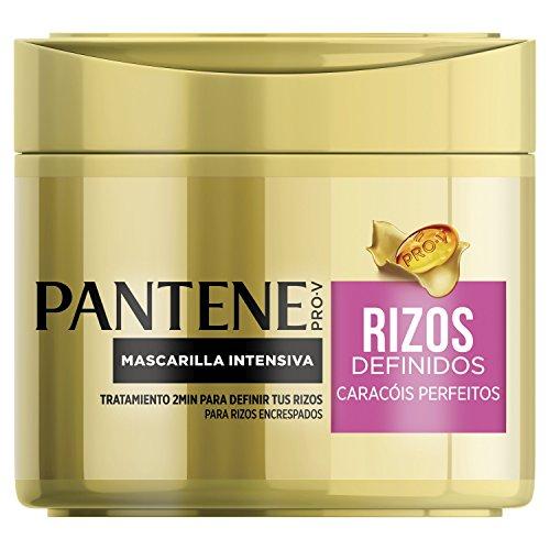 Pantene Rizos Definidos Mascarilla, Hidrata para Conseguir unos Rizos Sedosos y Definidos- 300 ml