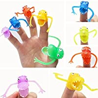 TOYMYTOY 10Pcs Monster Finger Cool for Kids Great Party Favors Fun Toys Puppet Show