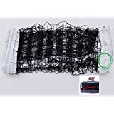 Volleyball Net with Aircraft Steel Cable (32 FT x 3 FT) -Volleyball Replacement Net for Outdoor | Indoor Sports Backyard Schoolyard Pool Beach Portable Outdoor Volleyball Net