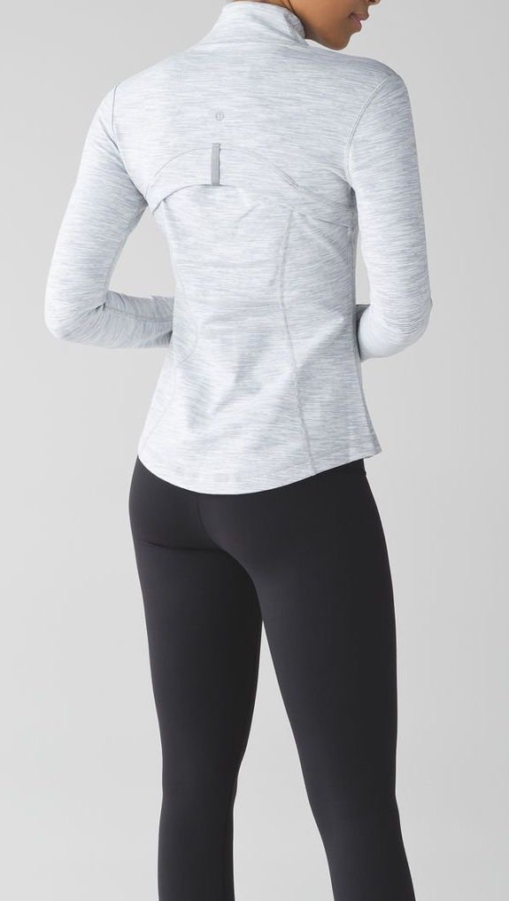 Lululemon Define Jacket (4, Wee Are From Space Ice Grey Alpine White) by Lululemon (Image #6)