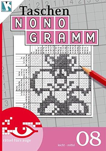 Taschen-Nonogramm 08 (Taschen-Nonogramm Taschenbuch / Logik-Rätsel)