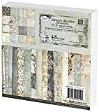 Prima Marketing Prima Marketing Paper Stack, 6 by 6-Inch, Nature Garden, 48-Pack