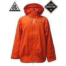 NIKE ACG Gore-tex Performance Shell Jacket Orange Mens Snowboard Mountainwear Ski All Sizes
