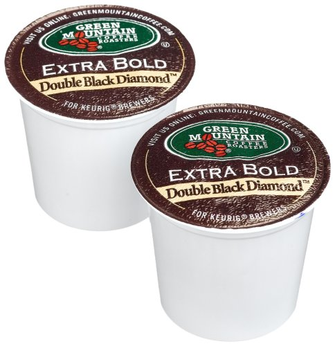 Green Mountain Coffee Double Ebon Diamond, 24-Count K-Cups for Keurig Brewers (Pack of 2)