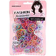 Multi Candy Color Baby Girl's Kids Hair Holder Hair Tie Elastic Rubber Bands 1000pcs