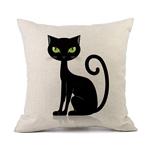 GOVOW Dormitory Decoration Halloween Sofa Bed Home Decoration Festival Pillow Case Cushion Cover ()