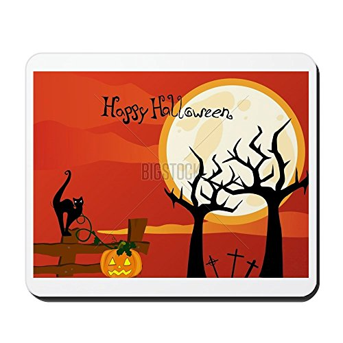CafePress - Halloween poster Mousepad - Non-slip Rubber Mousepad, Gaming Mouse Pad