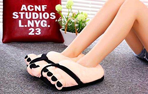 Divertente Pantofole Feet Novit Indoor Big Bei Peluche Wang Toe Morbido Caldo Winter 5Sgvpnq