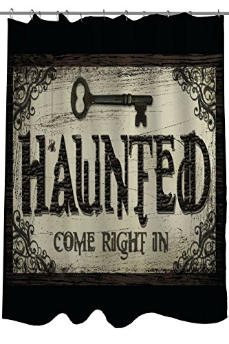 Bentin-Home-Decor-Haunted-Come-in-Key-Shower-Curtain-by-Kate-Ward-Thacker