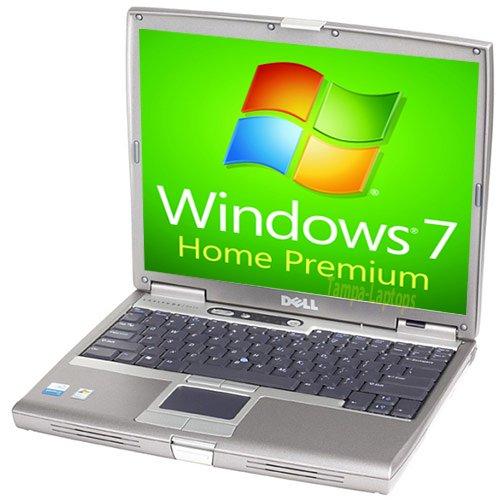 Dell Laptop Latitude D610 - 1.86GHz - 1GB RAM - 60GB Hard drive - DVD+CDRW - Windows 7 Home Premium