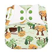 bumGenius Elemental 3.0 All-in-One One-Size Cloth Diaper with Organic Cotton (Big Woods)