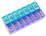 MEDca Weekly Pill Organizer, Twice-a-Day, 1 Pill Organizer