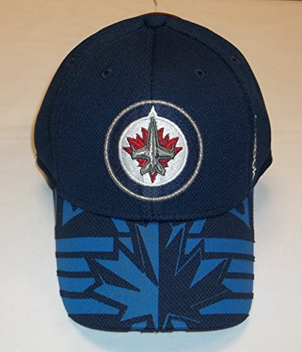 fan products of NHL Reebok Center Ice Flex Fit 2015 Draft Hat (Winnipeg Jets, S/M)