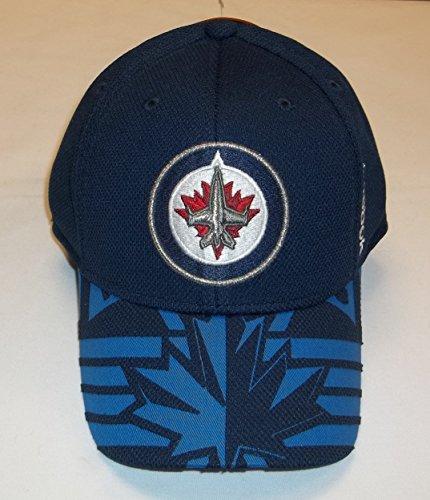Draft Center Ice (NHL Reebok Center Ice Flex Fit 2015 Draft Hat (Winnipeg Jets, S/M))