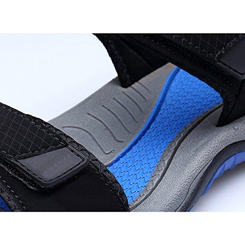 Et Sandales Eastlion Sandales De Air Sandales En Pour Chaussures Couleur toe D'été Plein Plage Sport De Et Des Sport 11 Garçon De Peep Hommes De Sandales Cuir rrZnxpqt5a
