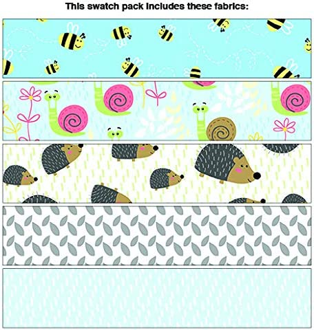 Benartex Friendship Forest Blue 5pc Fat Quarter Bundle