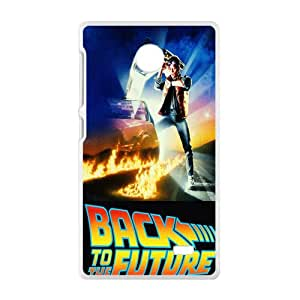 Back To The Future Pattern Plastic Case For NOKIA X