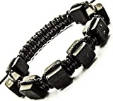 Keled Rocks Shungite Bracelet Cubic Beads