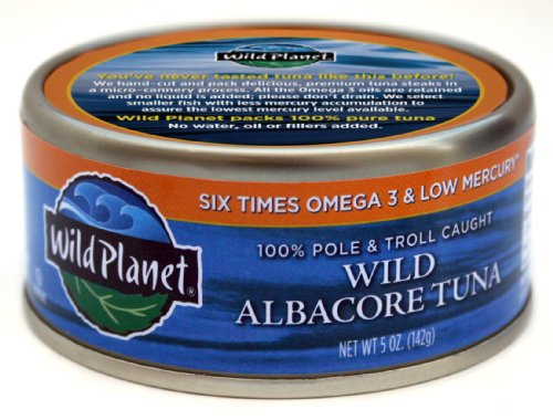 Wild Planet Albacore Tuna (Wild Planet Tuna Albacore Wild - 5 Ounce (Pack of 2))